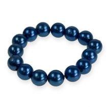 Deko-Perlen Ø10mm Blau 115St