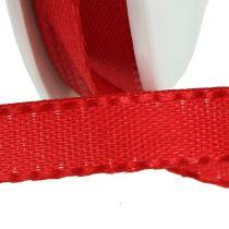 Geschenkband Rot 8mm 50m