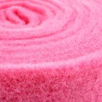 Filzband Pink 15cm 5m
