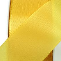 Geschenk- und Dekorationsband 40mm x 50m Gelb