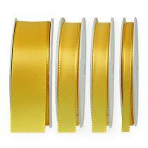 Geschenk- und Dekorationsband 50m Gelb