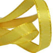 Geschenk- und Dekorationsband 10mm x 50m Gelb