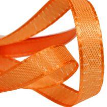 Geschenk- und Dekorationsband 10mm x 50m Orange