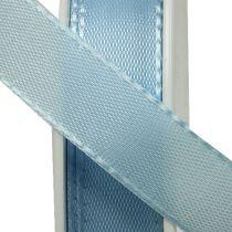 Geschenk- und Dekorationsband 15mm x 50m Hellblau