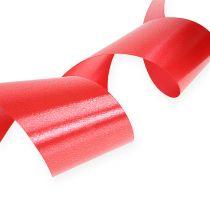 Kräuselband 50mm 100m Rot