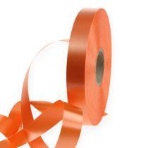 Kräuselband orange 15mm 100m