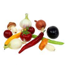 künstliches Gemüsesortiment