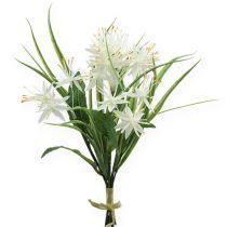 Deko-Blumenstrauß Weiß 26cm