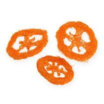 Luffa Scheiben Orange 25St