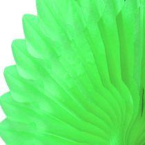 Wabenpapier Blume Grün Ø40cm 4St