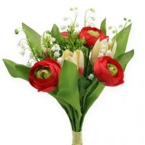 Ranunkelstrauß Tulpenstrauß Rot
