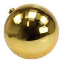 Weihnachtskugel Plastik Gold Ø25cm