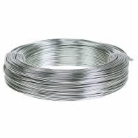 Aludraht 2mm 0,5kg Silber
