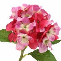 Kunstblume Hortensie Pink 36cm