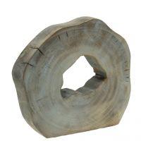 Deko Skulptur Kampferholz H22,5cm