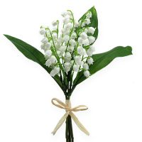 Künstliche Maiglöckchen Weiß 25cm