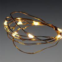 LED-Lichterkette 10er für Batterie warm-weiß
