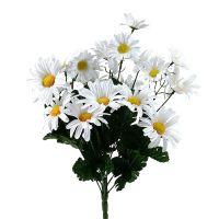 Margeritenstrauß Weiß 45cm