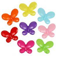 Schmetterling 3cm x 2,3cm zum Streuen 200g sortiert