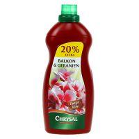 Chrysal Balkonpflanzendünger und Geraniendünger (1,2 l)