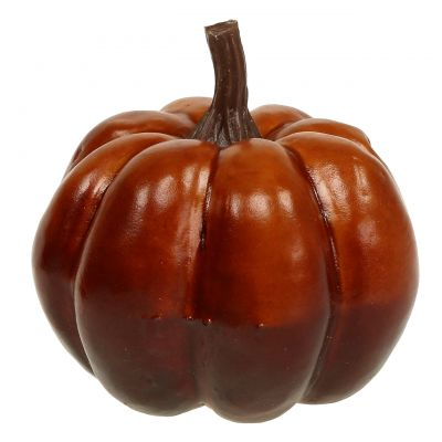 Deko Kürbis Orange 7cm 6St