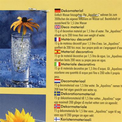 Dekogel Aqualinos 15g Transparent