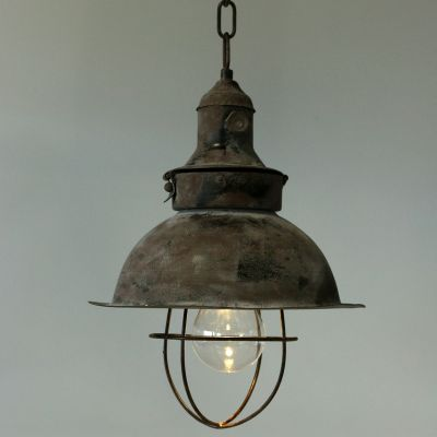 Lampe zum Hängen Antik Ø22cm H33cm