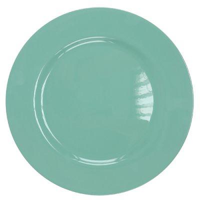 Plastikteller Ø33cm Türkis