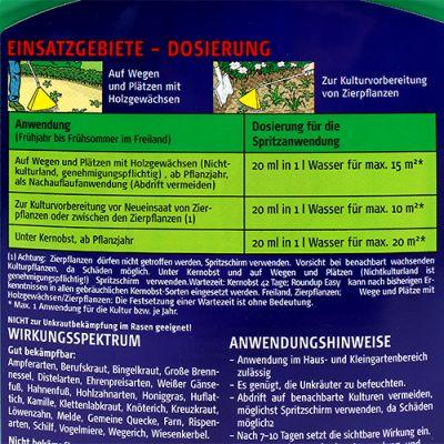 Celaflor Roundup Easy Unkrautfrei Konzentrat 500ml