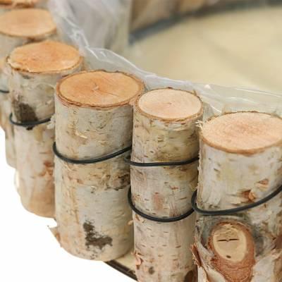 Tablett Birkenholz natur Rund Ø24cm