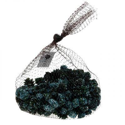 Kleine Zapfen Grün vereist 200g