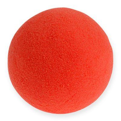 Steckschaum Kugeln Rot 9cm 4St