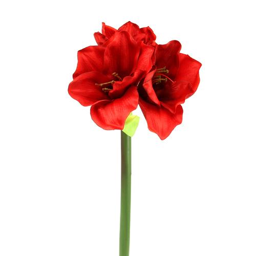 amaryllis k nstlich 60cm rot preiswert online kaufen. Black Bedroom Furniture Sets. Home Design Ideas