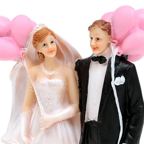 brautpaar mit luftballons 14cm preiswert online kaufen. Black Bedroom Furniture Sets. Home Design Ideas