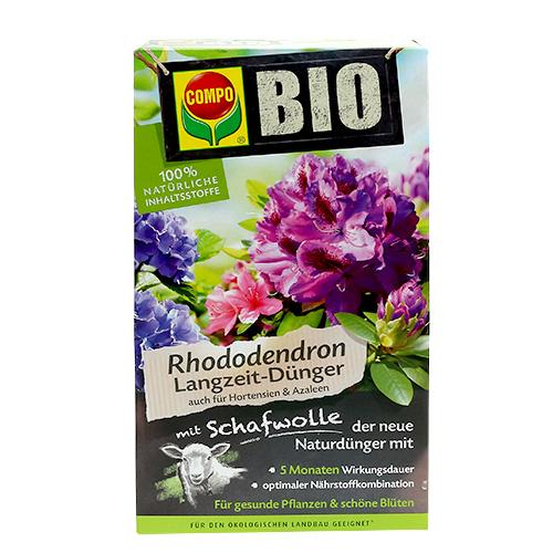 compo bio rhododendron langzeitd nger mit schafwolle 2kg. Black Bedroom Furniture Sets. Home Design Ideas