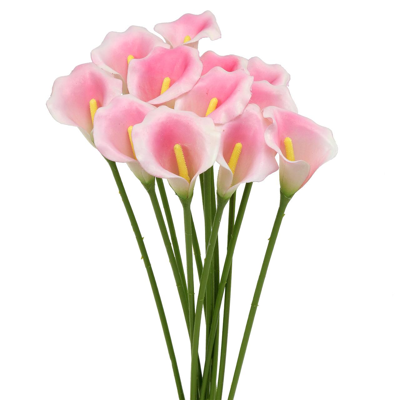 calla deko blume rosa 57cm 12st preiswert online kaufen. Black Bedroom Furniture Sets. Home Design Ideas