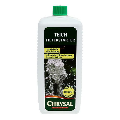 Chrysal teich filterstarter 1000ml preiswert online kaufen for 1000 liter teich
