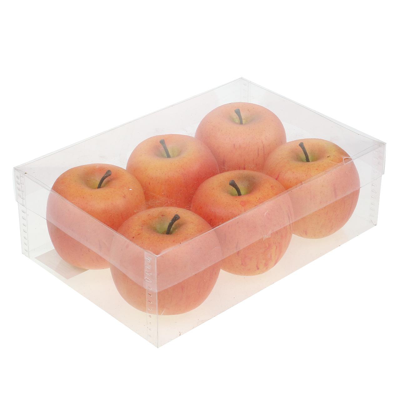 deko pfel cox orange 7cm 6st preiswert online kaufen. Black Bedroom Furniture Sets. Home Design Ideas