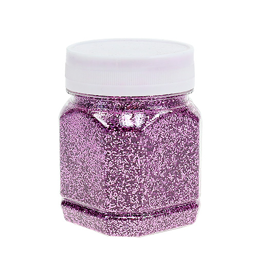 Deko glitter pink 115g preiswert online kaufen for Pink deko