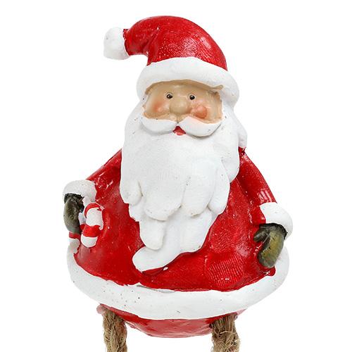 dekofigur weihnachtsmann sitzend 6 5cm l10cm 4st preiswert. Black Bedroom Furniture Sets. Home Design Ideas