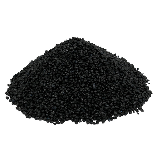 Dekogranulat schwarz 2mm 3mm 2kg preiswert online kaufen for Anthrazit kieselsteine