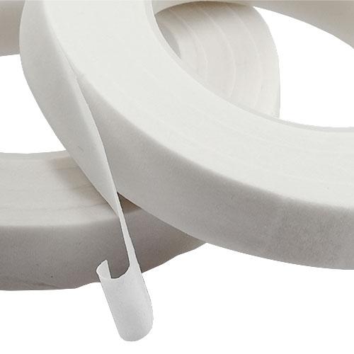 Floral Tape Blumenband Weiß 13mm 2St