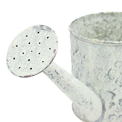 Gie kanne aus blech creme 11 5cm h11cm preiswert online for Deko aus blech