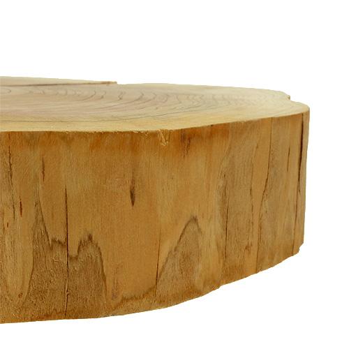 holzscheibe maxi ca 40cm x 6cm natur 1st preiswert online kaufen. Black Bedroom Furniture Sets. Home Design Ideas
