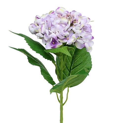 hortensie lila wei 60cm preiswert online kaufen. Black Bedroom Furniture Sets. Home Design Ideas