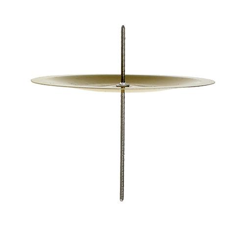 kerzenhalter mit dorn gold 6cm 36st preiswert online kaufen. Black Bedroom Furniture Sets. Home Design Ideas
