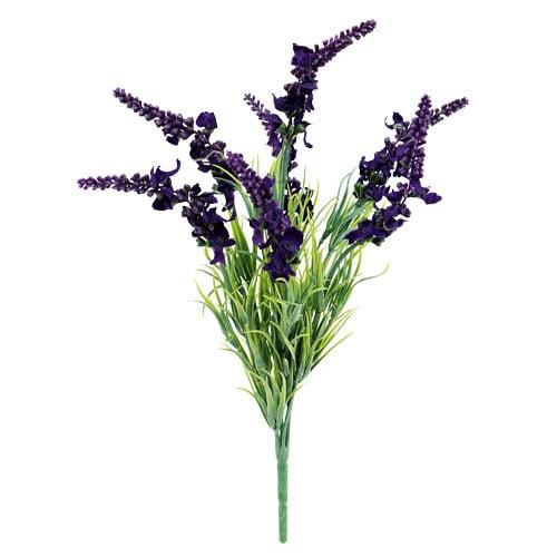k nstlicher lavendel lila l35cm 3st preiswert online kaufen. Black Bedroom Furniture Sets. Home Design Ideas