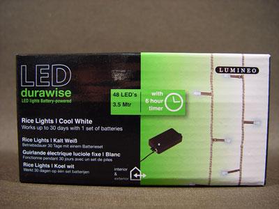led reislichterkette 48er 3 5m mit batterie timer kaltwei f r au en preiswert online kaufen. Black Bedroom Furniture Sets. Home Design Ideas