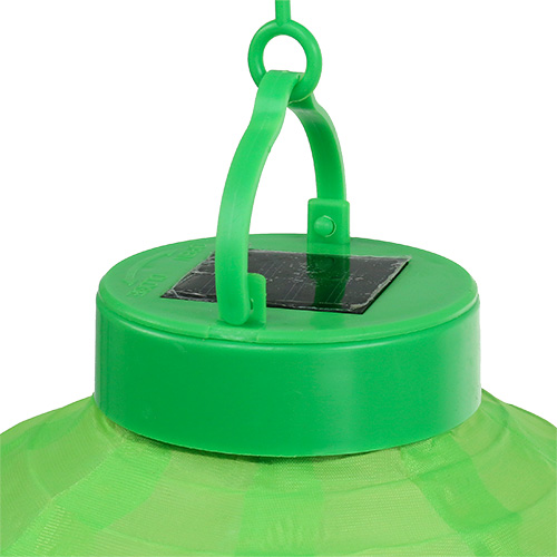 lampion led mit solar 20cm gr n preiswert online kaufen. Black Bedroom Furniture Sets. Home Design Ideas
