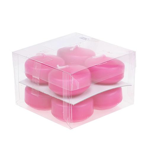 Schwimmkerzen pink 4 5cm 8st preiswert online kaufen for Schwimmkerzen kaufen